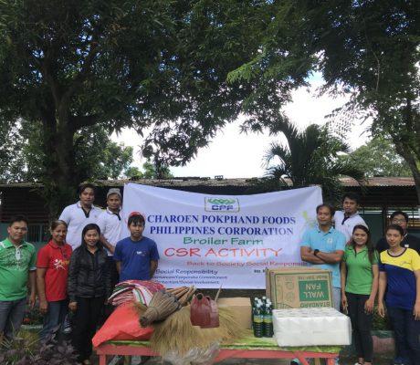 Broiler Farm Donation in Elementary School Buhol na Mangga, San Ildefonso,Bulacan