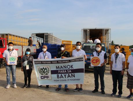 CPF Donates 1st Batch of 10,000 Live Chicken to the Municipality of Paniqui