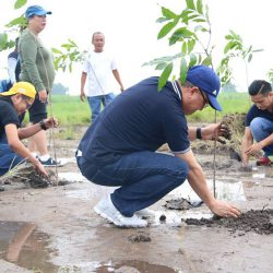 Tree Planting at Gerona  Gawad Kalinga Site