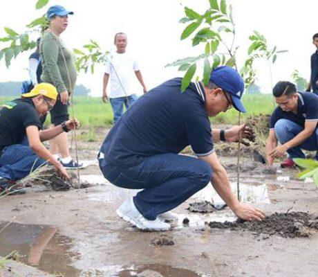 Tree Planting Gerona Gawad Kalinga Site 2