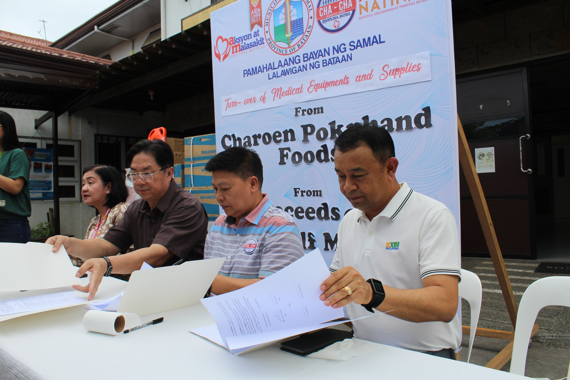 Turn over of Medical equipment