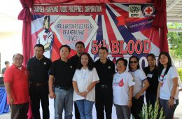 CPF: Blood Donation For Philippine Red Cross