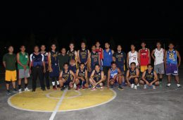 CPF: Aqua vs. Agro Basketball Game