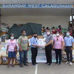 Relief Giving to the Fire Victims of Brgy. West Calaguiman, Samal, Bataan